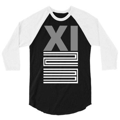 Xi Bred 3/4 Sleeve Shirt Designed By Lyly