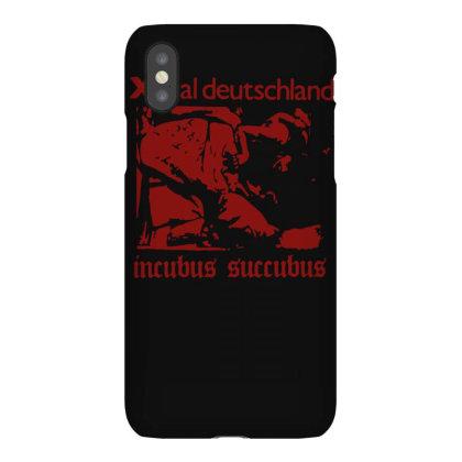 Xmal Deutschland Incubus Succubus Gothic Rock Band Iphonex Case Designed By Lyly