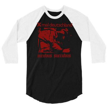 Xmal Deutschland Incubus Succubus Gothic Rock Band 3/4 Sleeve Shirt Designed By Lyly