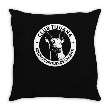 Xolos De Tijuana Mexico Futbol Soccer Throw Pillow Designed By Lyly
