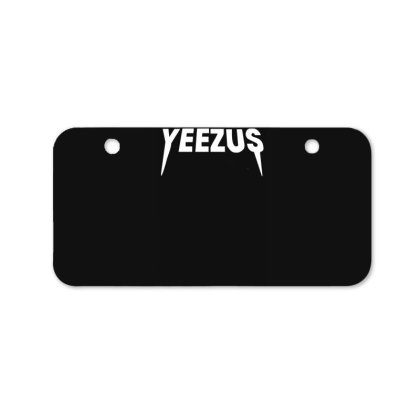 Yeezus Bicycle License Plate Designed By Lyly