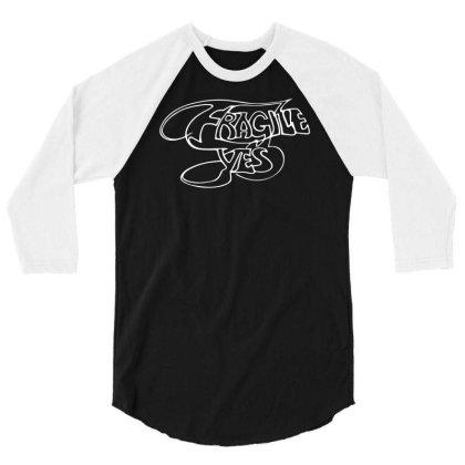 Yes Fragile Graffiti 3/4 Sleeve Shirt Designed By Lyly