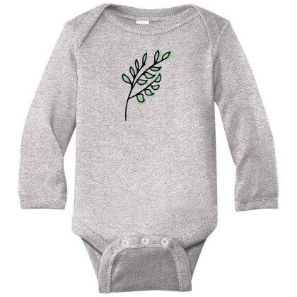 Leaf Design Long Sleeve Baby Bodysuit Designed By Dineshoram6041