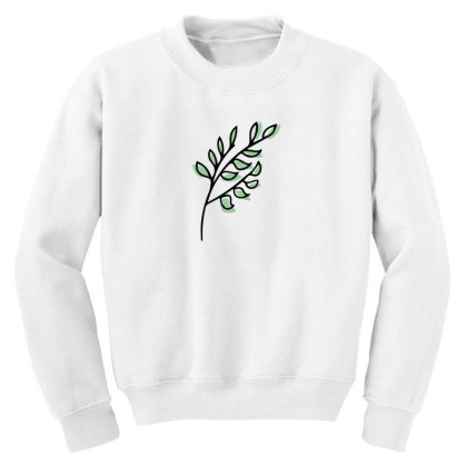 Leaf Design Youth Sweatshirt Designed By Dineshoram6041
