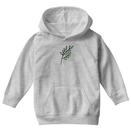 Leaf Design Youth Hoodie Designed By Dineshoram6041