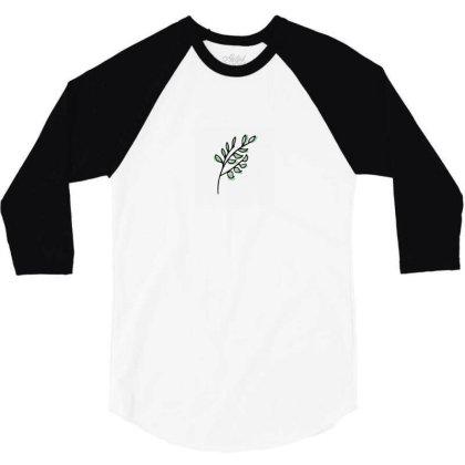 Leaf Design 3/4 Sleeve Shirt Designed By Dineshoram6041