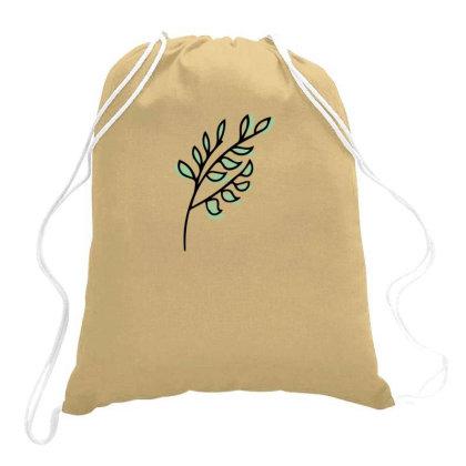 Leaf Design Drawstring Bags Designed By Dineshoram6041
