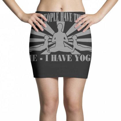 Yoga Mini Skirts Designed By Lyly