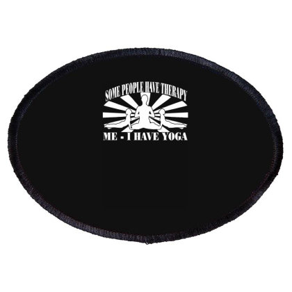 Yoga Inspired Oval Patch Designed By Lyly