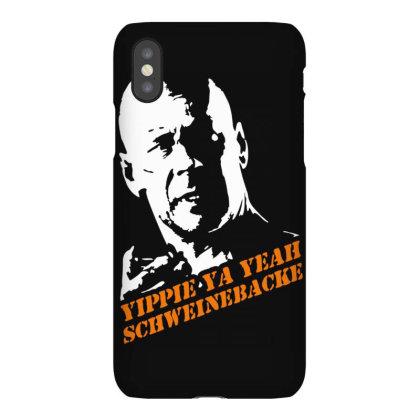 Yippie Ya Yeah Schweinebacke Die Hard Iphonex Case Designed By Lyly