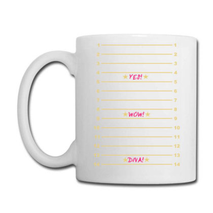 Yes Wow Diva Length Check Coffee Mug Designed By Lyly