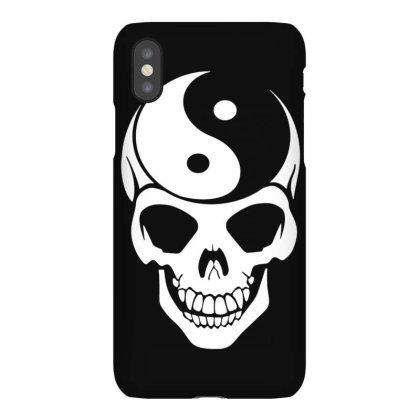 Yin Yang Skull Iphonex Case Designed By Lyly