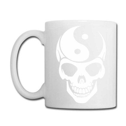 Yin Yang Skull Coffee Mug Designed By Lyly