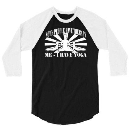 Yoga Inspired 3/4 Sleeve Shirt Designed By Lyly