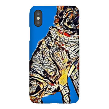 Portrait Of Brown And Black A Iphonex Case Designed By Kemnabi