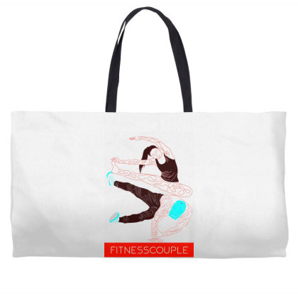 Fitness Couples Weekender Totes Designed By .m.e.l.u.h.a. Fashion Store