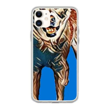 Portrait Of Akita Dog Standin Iphone 11 Case Designed By Kemnabi