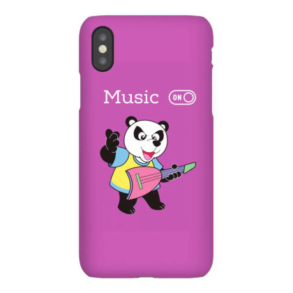 Panda And Music Lovers Iphonex Case Designed By Fashionnetwork