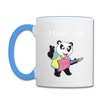 Panda And Music Lovers Coffee Mug Designed By Fashionnetwork