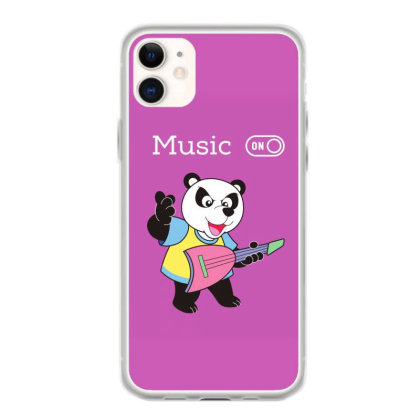 Panda And Music Lovers Iphone 11 Case Designed By Fashionnetwork
