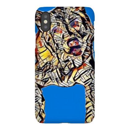 Portrait Of Bored Akita Dog L Iphonex Case Designed By Kemnabi