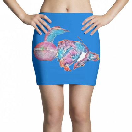 Adorable Young Puppy Sleeping Mini Skirts Designed By Kemnabi