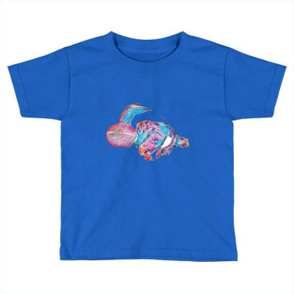 Adorable Young Puppy Sleeping Toddler T-shirt Designed By Kemnabi