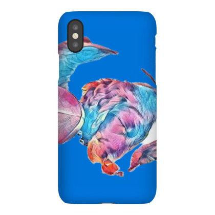 Adorable Young Puppy Sleeping Iphonex Case Designed By Kemnabi