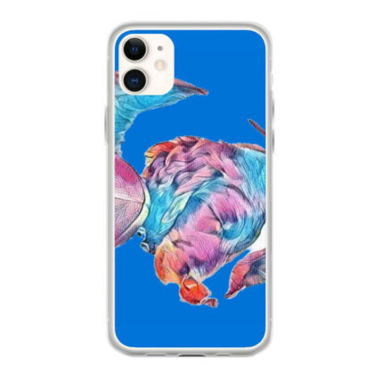Adorable Young Puppy Sleeping Iphone 11 Case Designed By Kemnabi