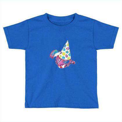 Cute English Springer Spaniel Toddler T-shirt Designed By Kemnabi