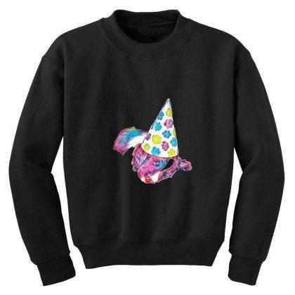 Cute English Springer Spaniel Youth Sweatshirt Designed By Kemnabi