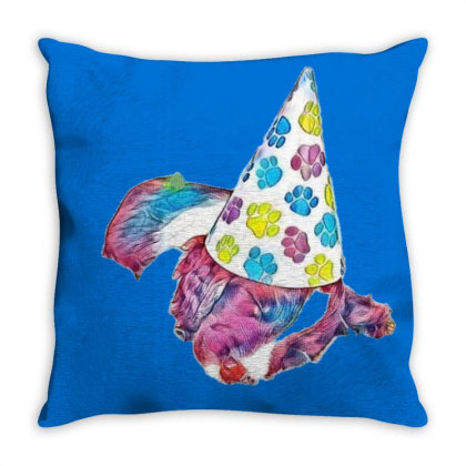 Cute English Springer Spaniel Throw Pillow Designed By Kemnabi