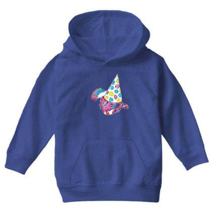 Cute English Springer Spaniel Youth Hoodie Designed By Kemnabi