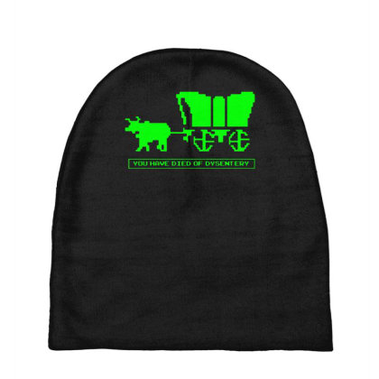 You Have Died Of Dysentery Baby Beanies Designed By Lyly