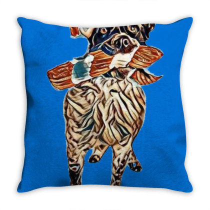 Cute And Funny Australian She Throw Pillow Designed By Kemnabi