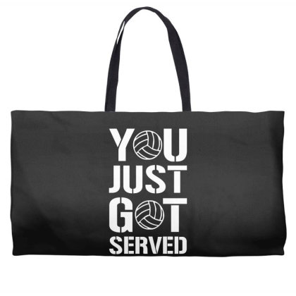 You Just Got Served Weekender Totes Designed By Lyly