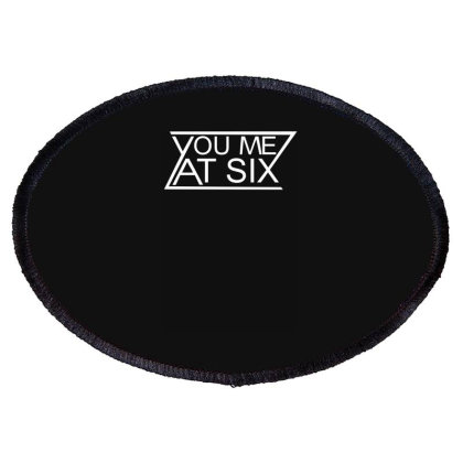 You Me At Six Oval Patch Designed By Lyly