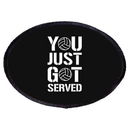 You Just Got Served Oval Patch Designed By Lyly