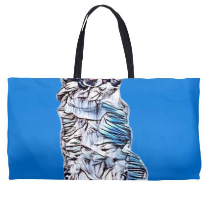 Funny Photo Of A Large Austra Weekender Totes Designed By Kemnabi