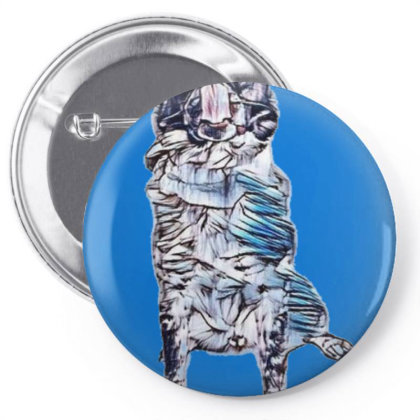 Funny Photo Of A Large Austra Pin-back Button Designed By Kemnabi