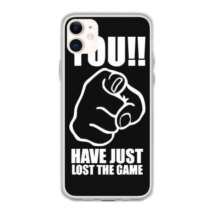 You Have Just Lost The Game  Funny Computer Internet Humour Iphone 11 Case Designed By Lyly