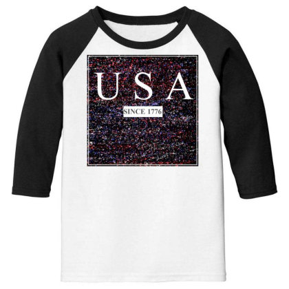 Usa Youth 3/4 Sleeve Designed By Aditya@8979