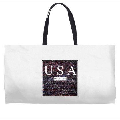 Usa Weekender Totes Designed By Aditya@8979