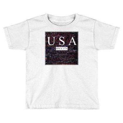 Usa Toddler T-shirt Designed By Aditya@8979