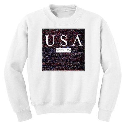 Usa Youth Sweatshirt Designed By Aditya@8979