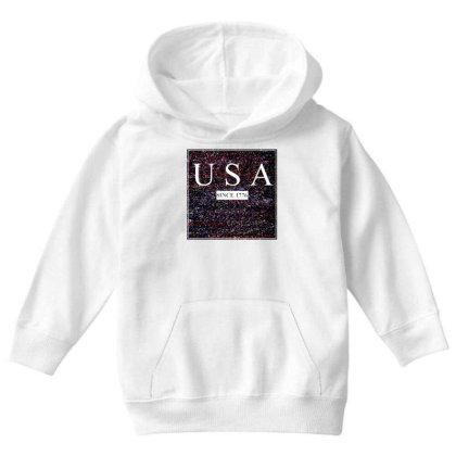 Usa Youth Hoodie Designed By Aditya@8979