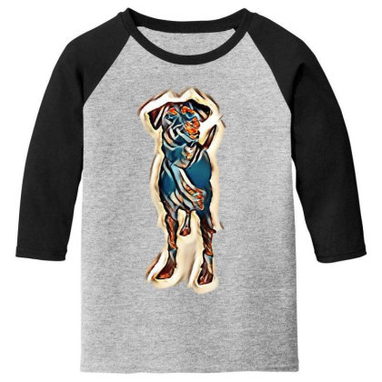 Cute Young Obedient Mixed Bre Youth 3/4 Sleeve Designed By Kemnabi