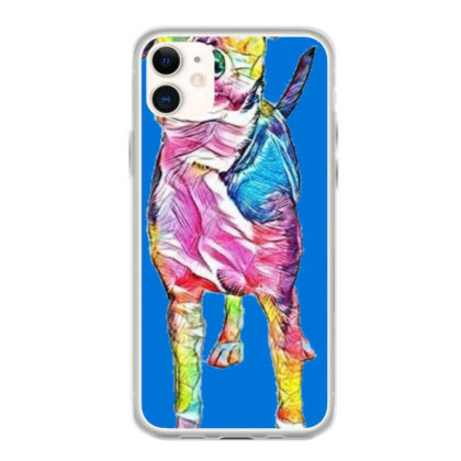 Cute Young Mixed Hound Breed Iphone 11 Case Designed By Kemnabi
