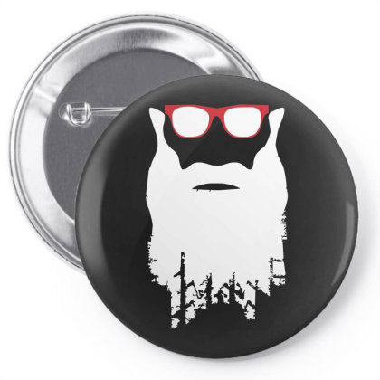 Yre Beard Fast N' Loud Pin-back Button Designed By Lyly