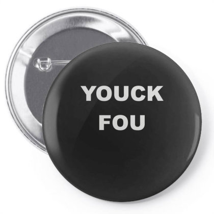 Yuck Fou Pin-back Button Designed By Lyly